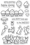 Spring Bunnies Stamp Set