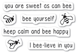 Bee Yourself Stamp Set