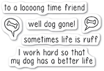Dog Gone Stamp Set