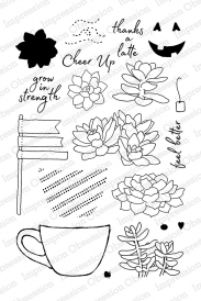 Cup of Sweet Succulents Stamp Set