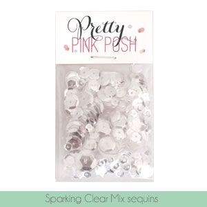Sparkling Clear Sequins Mix