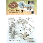 Shopping Makes Me Happy Stamp Set
