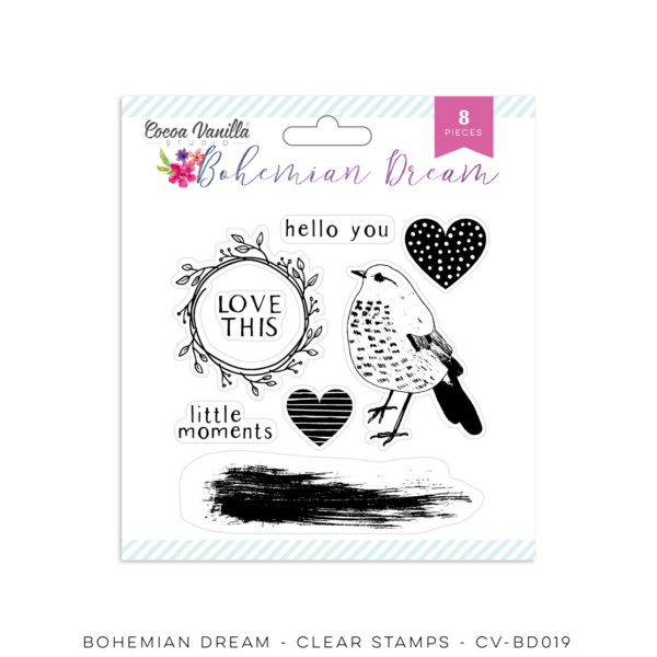 Bohemian Dream Stamp Set