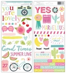 Happy Place Accent & Phrase Stickers