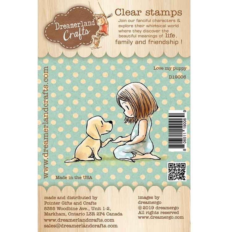 Love My Puppy Stamp Set