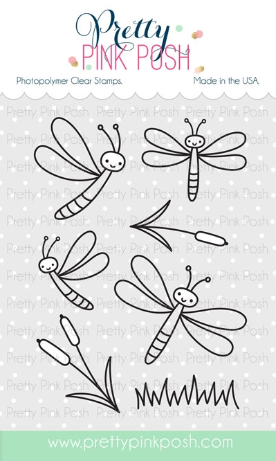 Darling Dragonflies Stamp Set