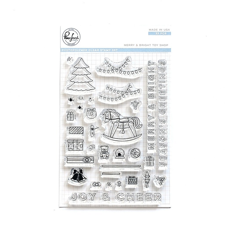 Merry And Bright Toy Shop Stamp Set