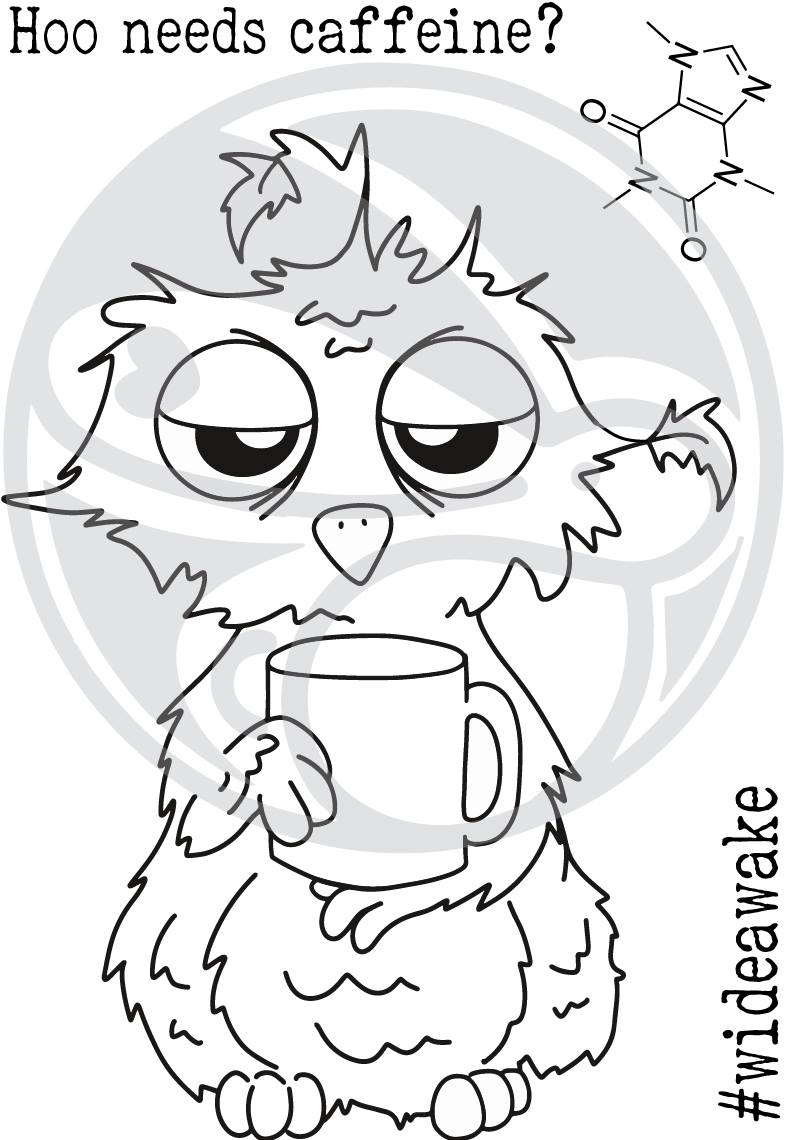 Caffeinated Owl Stamp Set