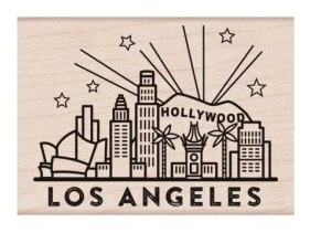 Destination Los Angeles Stamp