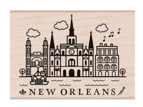 Destination New Orleans Stamp