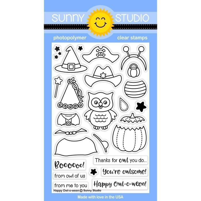 Happy Owl-o-ween Stamp Set