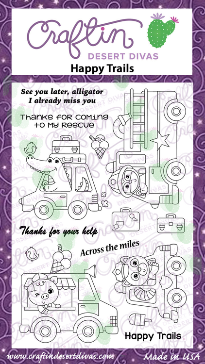 Happy Trails Stamp Set