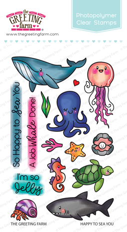 Happy to Sea You Stamp Set