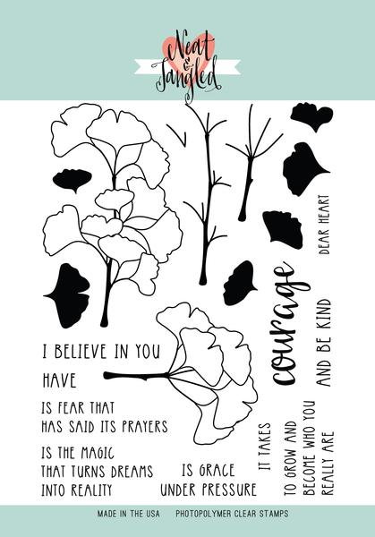 Have Courage Stamp Set
