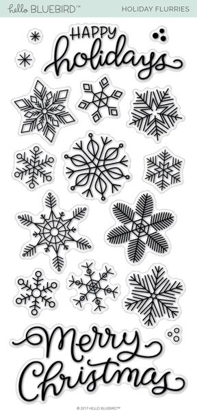 Holiday Flurries Stamp Set