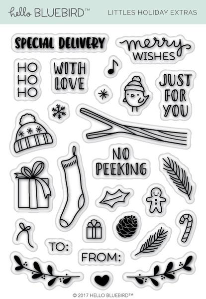 Little Holiday Extras Stamp Set