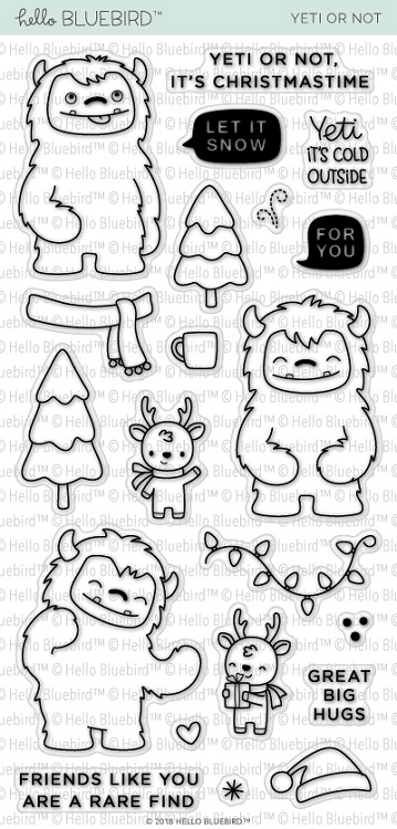 Yeti Or Not Stamp Set