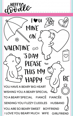 Beary Big Heart Stamp Set
