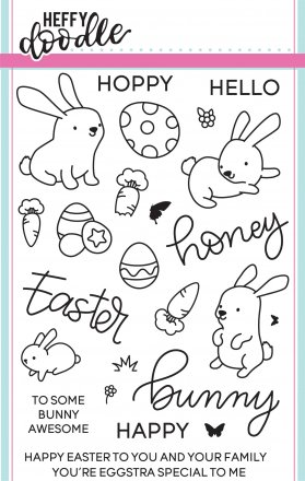 Honey Bunny Boo Stamp Set