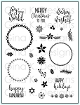 Holiday Wreath Builder Stamp Set