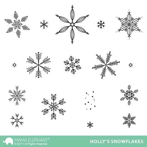 Holly's Snowflakes Stamp Set