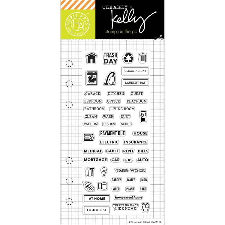 Kelly's Home Planner Stamp Set