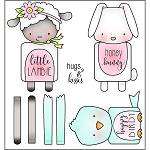 Spring Huggers Stamp Set