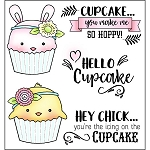 Hoppy Cupcake Stamp Set