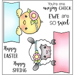 Ewe Amazing Chick Stamp Set