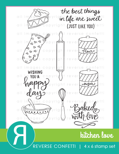Kitchen Love Stamp Set