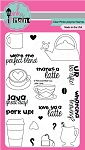 Latte Love Stamp Set