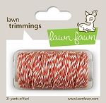 Lawn Trimmings Twine - Coral