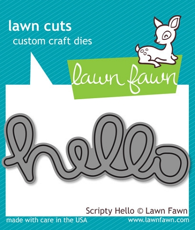 Scripty Hello Lawn Cuts