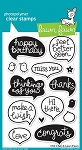 Chit Chat Stamp Set