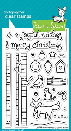 Joy to the Woods Stamp Set