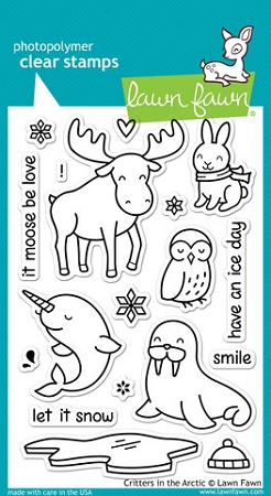 Critters in the Arctic Stamp Set