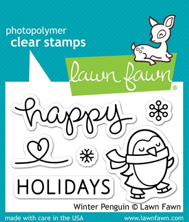 Winter Penguin Stamp Set