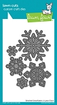 Stitched Snowflakes Lawn Cuts