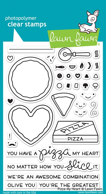 Pizza My Heart Stamp Set