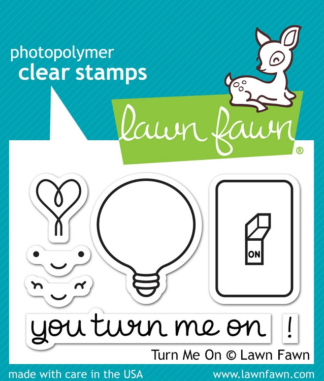 Turn Me On Stamp Set