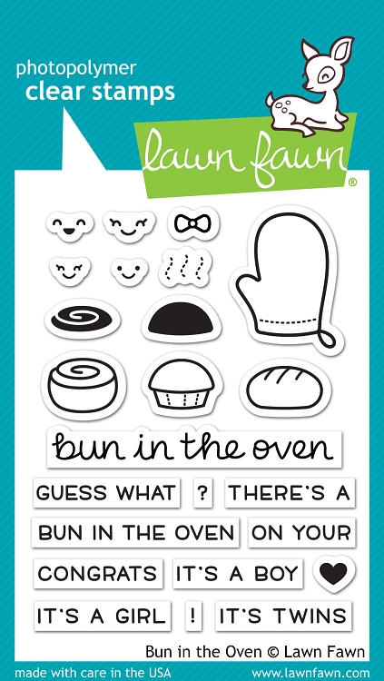 Bun in the Oven Stamp Set