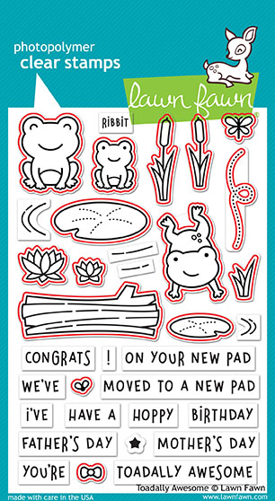 Toadally Awesome Stamp Set