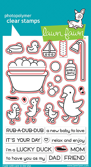 Rub-A-Dub-Dub Stamp Set