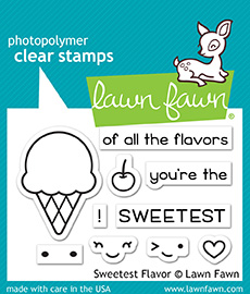 Sweetest Flavor Stamp Set