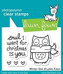 Winter Owl Stamp Set