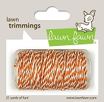 Lawn Trimmings Twine - Tangerine