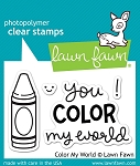 Color My World Stamp Set