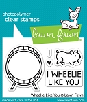 Wheelie Like You Stamp Set
