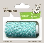 Lawn Trimmings Twine - Aquamarine