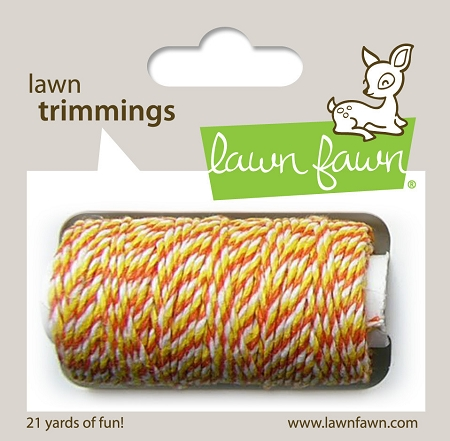 Lawn Trimmings Twine - Candy Corn
